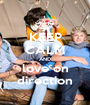 KEEP CALM AND love on direction - Personalised Poster A1 size