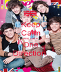 Keep Calm And Love One Direction. - Personalised Poster A1 size