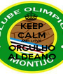 KEEP CALM AND LOVE ORGULHO ALDEANO - Personalised Poster A1 size