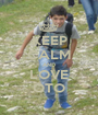 KEEP CALM AND LOVE OTO - Personalised Poster A1 size