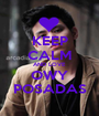 KEEP CALM AND LOVE OWY POSADAS - Personalised Poster A1 size