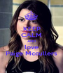KEEP CALM AND love Paige Mccullers - Personalised Poster A1 size