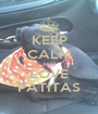 KEEP CALM AND LOVE PATITAS - Personalised Poster A1 size