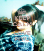 KEEP CALM AND LOVE PIYU - Personalised Poster A1 size