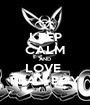 KEEP CALM AND LOVE  PLAY BOY - Personalised Poster A1 size