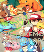 KEEP CALM AND LOVE POKEMON MILLENNIUM GROUP - Personalised Poster A1 size