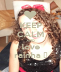 KEEP CALM AND love rainha ♥ - Personalised Poster A1 size