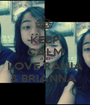 KEEP CALM AND LOVE RANIA & BRIANNA  - Personalised Poster A1 size
