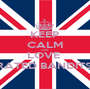 KEEP CALM AND LOVE  RATED BANDITS  - Personalised Poster A1 size