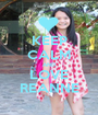 KEEP CALM AND LOVE REANNE - Personalised Poster A1 size