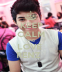KEEP CALM AND LOVE  RENZ   - Personalised Poster A1 size