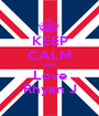 KEEP CALM AND Love Rhyan J - Personalised Poster A1 size