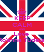 KEEP CALM AND Love  Ro'anna Tudela  - Personalised Poster A1 size