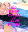 KEEP CALM AND LOVE ROJIN - Personalised Poster A1 size