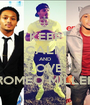 KEEP CALM AND LOVE ROMEO MILLER - Personalised Poster A1 size