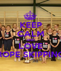 KEEP CALM AND LOVE ROPE SKIPPING - Personalised Poster A1 size