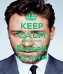 KEEP CALM AND LOVE Russell Crowe - Personalised Poster A1 size