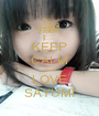 KEEP CALM AND LOVE SAYUMI - Personalised Poster A1 size
