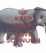KEEP CALM AND LOVE SCHNUFFI - Personalised Poster A1 size