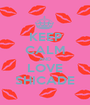 KEEP CALM AND LOVE SHICADE - Personalised Poster A1 size