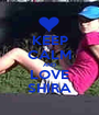 KEEP CALM AND LOVE SHIRA - Personalised Poster A1 size