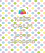 KEEP CALM AND Love Shoppin - Personalised Poster A1 size