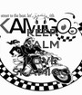 KEEP CALM AND LOVE SKAMIGO - Personalised Poster A1 size