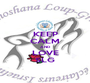 KEEP CALM AND LOVE SLG - Personalised Poster A1 size