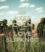 KEEP CALM AND LOVE SLIPKNOT - Personalised Poster A1 size