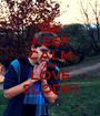 KEEP CALM AND LOVE SŁODKI - Personalised Poster A1 size