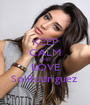 KEEP CALM AND LOVE SolRodriguez  - Personalised Poster A1 size