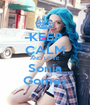 KEEP CALM AND LOVE Sonia Gomez - Personalised Poster A1 size
