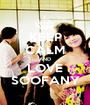 KEEP CALM AND LOVE SOOFANY - Personalised Poster A1 size