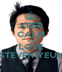 KEEP CALM AND LOVE STEVEN YEUN - Personalised Poster A1 size