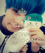 KEEP CALM AND LOVE SUWOONG - Personalised Poster A1 size