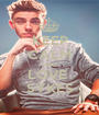 KEEP CALM AND LOVE  SYKES - Personalised Poster A1 size