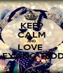 KEEP CALM AND LOVE  TAEYANG TEDDY  - Personalised Poster A1 size