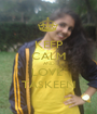 KEEP CALM AND LOVE  TASKEEN - Personalised Poster A1 size