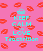 KEEP CALM AND LOVE Tauchrition - Personalised Poster A1 size