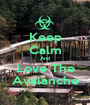 Keep Calm And Love The Avalanche - Personalised Poster A1 size