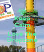 Keep Calm And Love The Dropzone - Personalised Poster A1 size