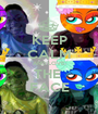 KEEP CALM AND LOVE THE  FACE - Personalised Poster A1 size