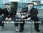 KEEP CALM AND Love The House On Cliff - Personalised Poster A1 size