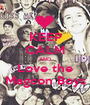 KEEP CALM AND Love the Magcon Boys - Personalised Poster A1 size