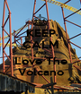 KEEP CALM AND Love The Volcano - Personalised Poster A1 size