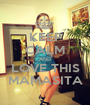 KEEP CALM AND LOVE THIS MAMASITA - Personalised Poster A1 size