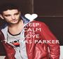 KEEP CALM AND LOVE  THOMAS PARKER - Personalised Poster A1 size