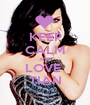 KEEP CALM AND LOVE  TIAN - Personalised Poster A1 size
