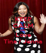 KEEP CALM AND Love Tina / Jenna - Personalised Poster A1 size