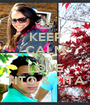 KEEP CALM AND LOVE TITO & TITA - Personalised Poster A1 size